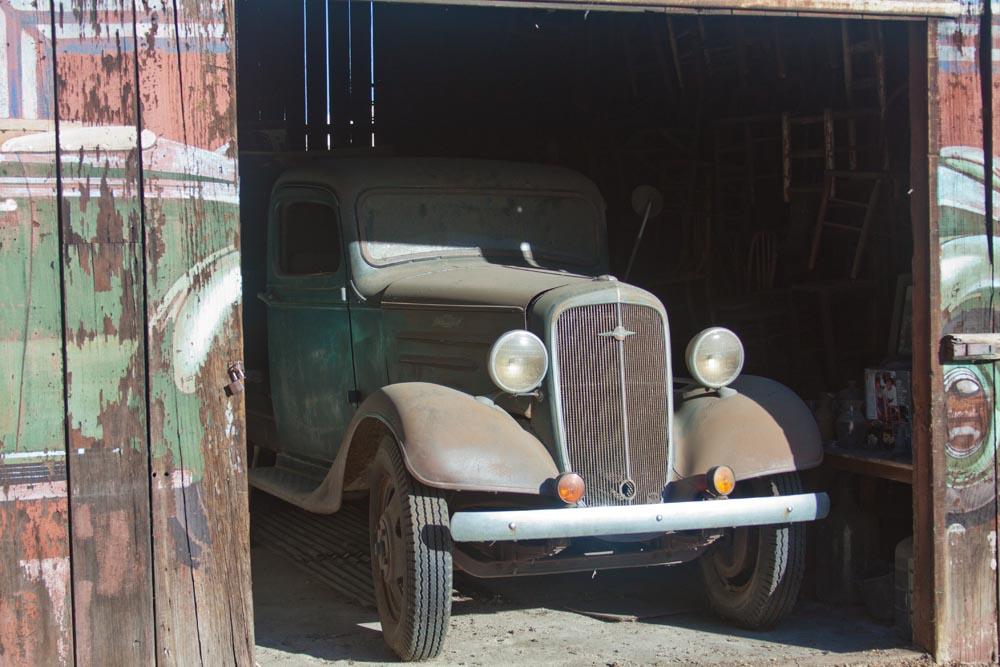 Vintage Flatbed Truck