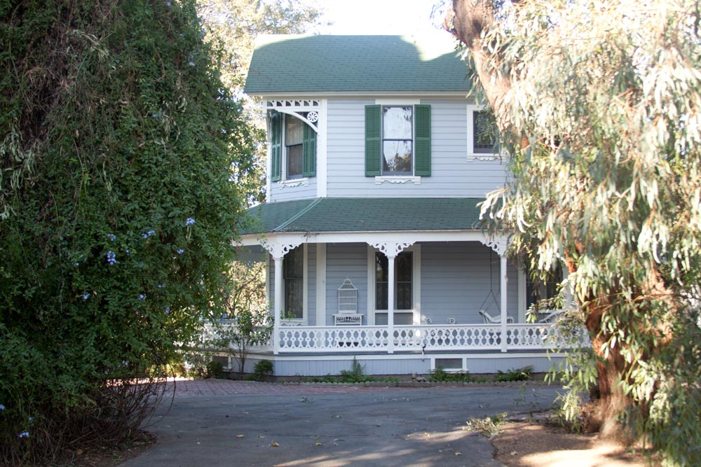 Victorian Home side view