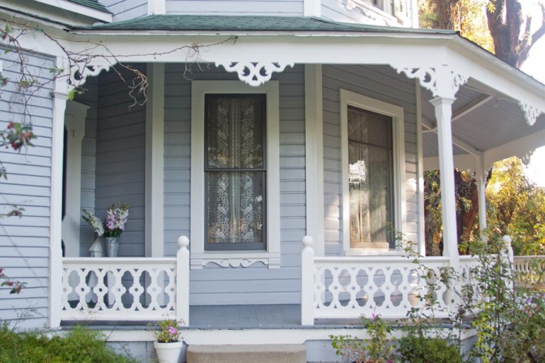 Victorian Home with Wrap Around Porch at Paddison Farm